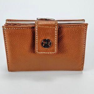NWOT Leather Giani Bernini Softy Indexer